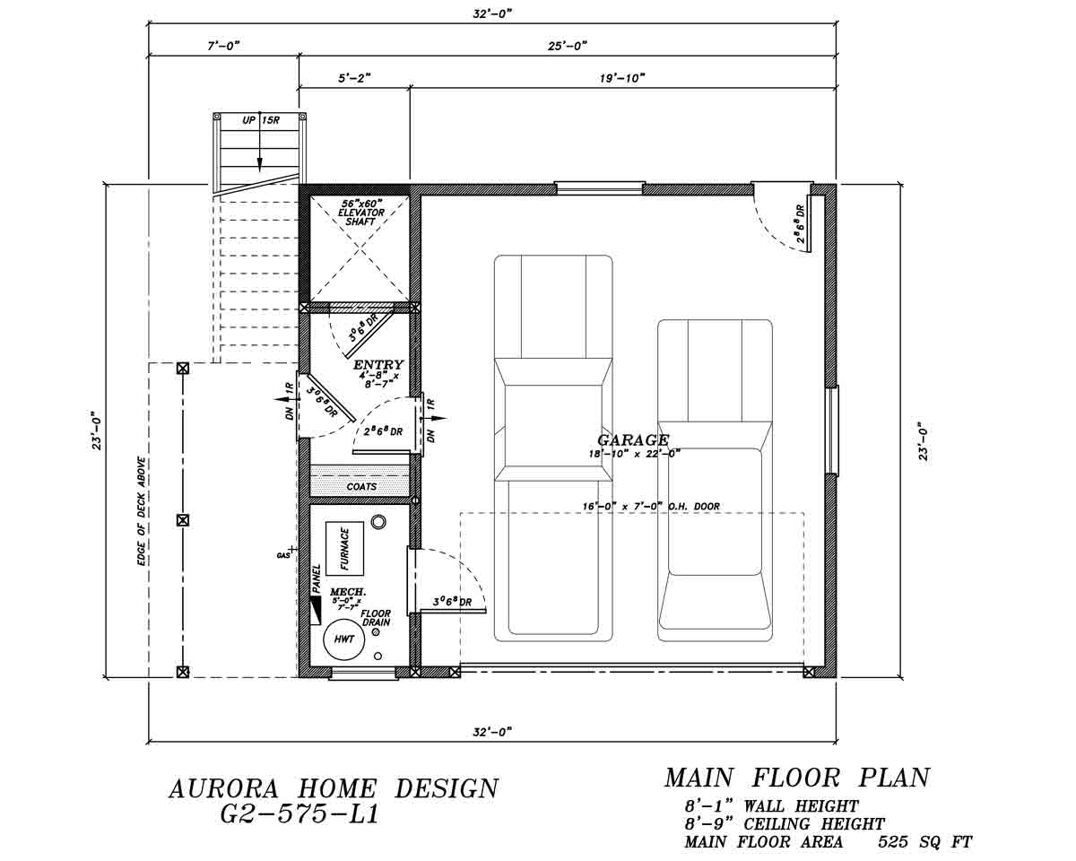 Stock Plan Gallery Aurora Home Design