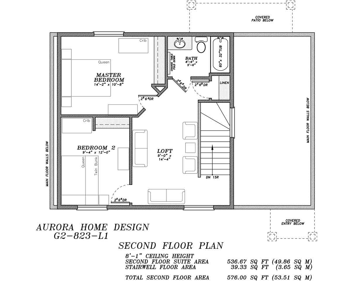 2 Level Garage Suite with 2 Bedroom 1 1/2 Bath | Aurora Home Designs Edmonton