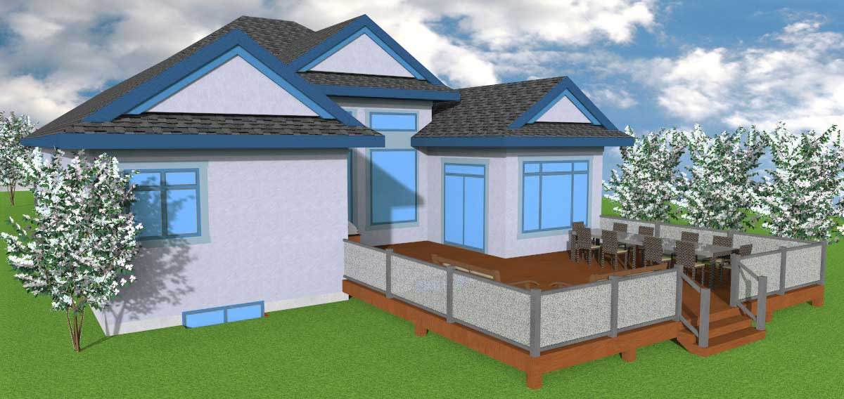 Executive Bungalow with 2 Bedroom | Aurora home Designs Edmonton