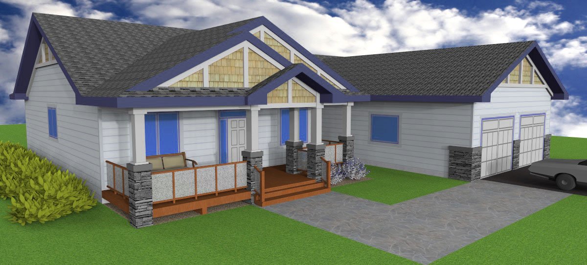 Aurora Home Designs Bungalow Plans