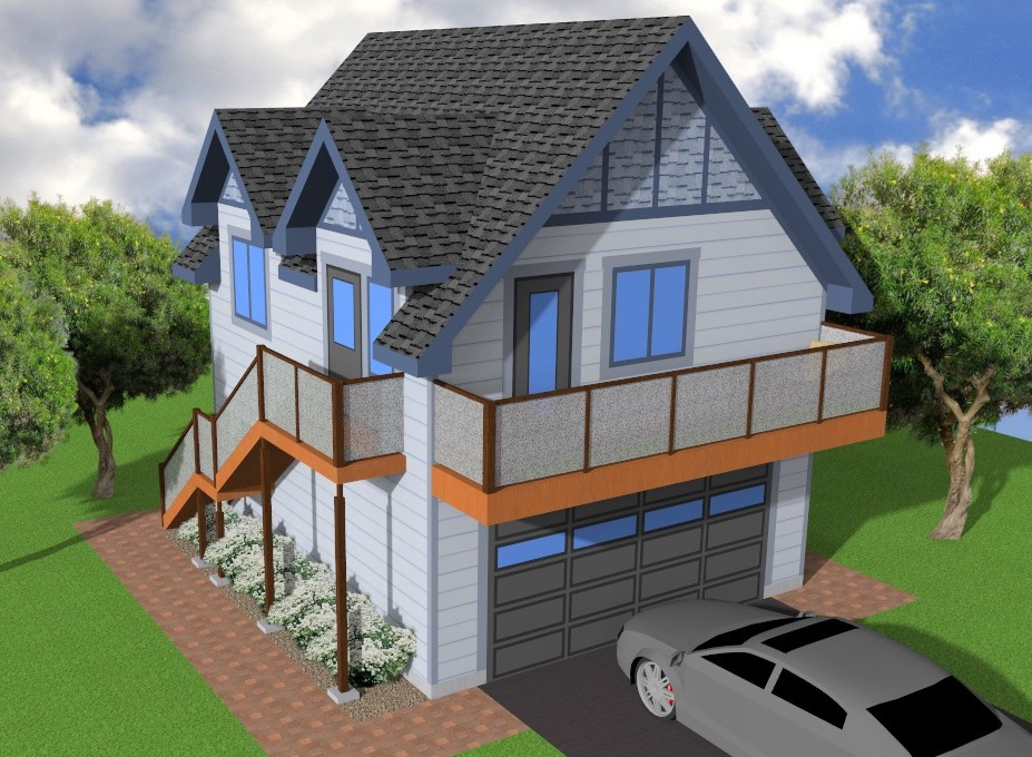 Aurora Home Designs Garage Plans