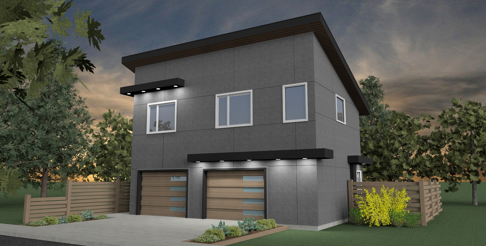 Modern Garage Suite with 2 Bedroom | Aurora Home Designs Edmonton